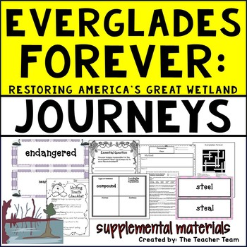 Everglades Forever Journeys Fifth Grade Supplemental Materials