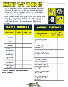 Saving the Environment: Saving Energy Every Day