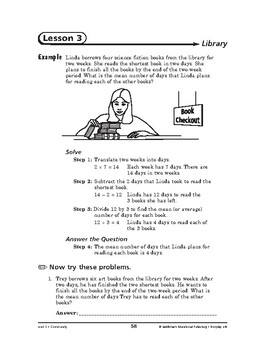Everyday Life Math: Community-Library