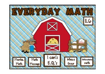 Everyday Math 2nd Grade Promethean Lesson 11.6 Multiplicat