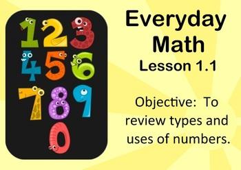 2007 EDITION. Everyday Math 1-1 (Grade 3)