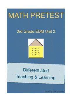 Everyday Math 3rd Grade Unit 2 Pretest