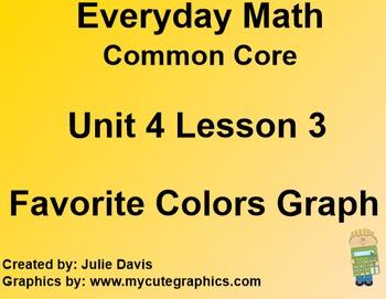 Everyday Math 4 Common Core Edition Kindergarten 4.3 Favor