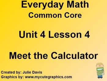 Everyday Math 4 Common Core Edition Kindergarten 4.4 Meet