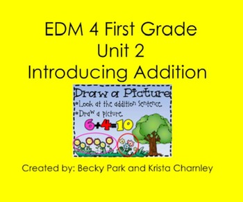 Everyday Math 4, Common Core, Unit 2 First Grade Interacti