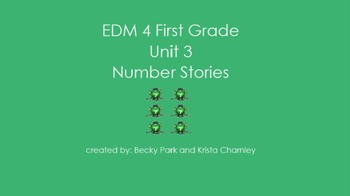 Everyday Math 4, Common Core, Unit 3 First Grade Interacti