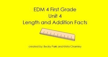 Everyday Math 4, Common Core, Unit 4 First Grade Interacti