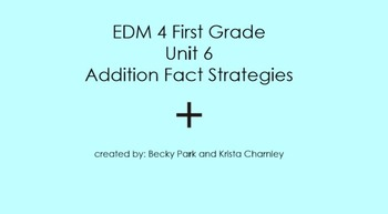 Everyday Math 4, Common Core, Unit 6 First Grade Interacti