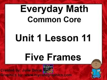 Everyday Math 4 EDM4 Common Core Edition Kindergarten 1.11