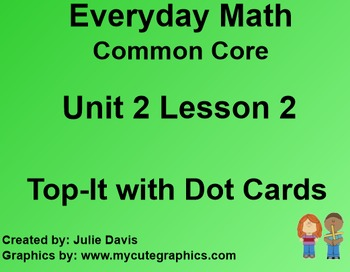 Everyday Math 4 EDM4 Common Core Edition Kindergarten 2.2