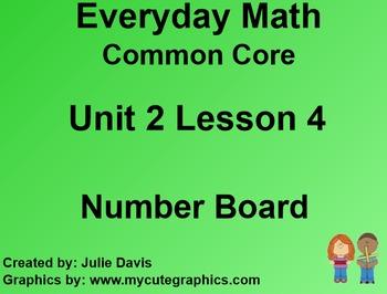 Everyday Math 4 EDM4 Common Core Edition Kindergarten 2.4