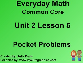Everyday Math 4 EDM4 Common Core Edition Kindergarten 2.5