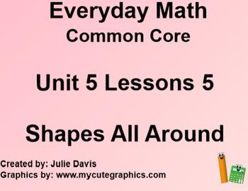 Everyday Math 4 EDM4 Common Core Edition Kindergarten 5.5