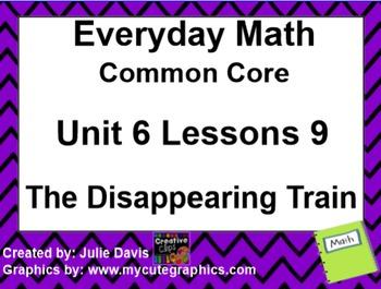 Everyday Math 4 EDM4 Common Core Edition Kindergarten 6.9