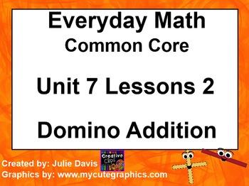 Everyday Math 4 EDM4 Common Core Edition Kindergarten 7.2
