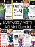 Everyday Math 4 (EM4) - Units 5-9 ACI Mini-BUNDLE for Seco