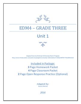 Everyday Math 4 - Grade 3 - Unit 1 - Review
