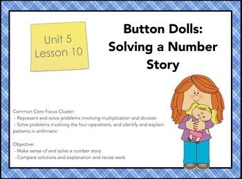 Everyday Math 4 Grade 3, Unit 5, Lesson 10: Solving a Numb