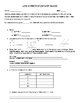 Everyday Math 4 Grade 4 Ch 4 Pretest, Quiz, or Study Guide