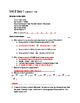 Everyday Math 4 Unit 2 Quizzes Grade 5