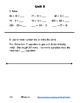 Everyday Math 4 Unit 5 Assessment