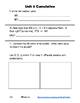Everyday Math 4 Unit 6 Cumulative Assessment