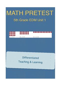 Everyday Math 5th Grade Unit 1 Pretest