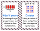 Everyday Math Chapter 6 Vocabulary Posters
