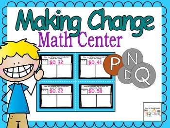 Everyday Math: Coin Combination Center