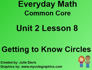 Everyday Math 4 Common Core Edition Kindergarten 2.8 Getti