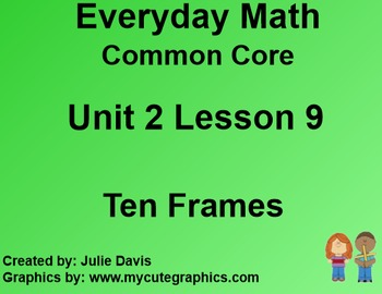 Everyday Math 4 EDM4 Common Core Edition Kindergarten 2.9