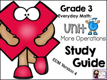 Everyday Math (EDM 4) Study Guide, Grade 3, Unit 6