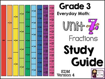 Everyday Math - EDM4 - Study Guide, Grade 3, Unit 7
