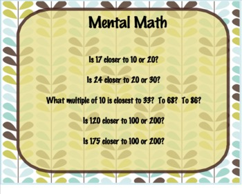 Everyday Math Grade 1 9.4: Adding and Subtracting 2-Digit Numbers