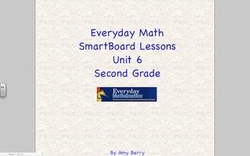 Everyday Math 2nd Grade SmartBoard Lessons Unit 6