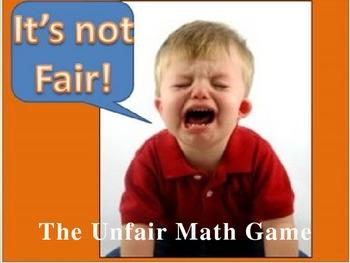 Everyday Math Grade 4 Unit 6 Review Unfair Game