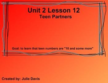 Everyday Math Kindergarten 2.12 Teen Partners