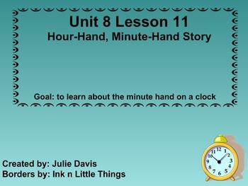 Everyday Math Kindergarten 8.11 Hour Hand Minute Hand Story