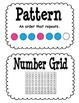 Everyday Math Second Grade Unit 1 Vocabulary Cards
