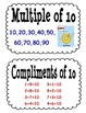 Everyday Math Second Grade Unit 7 Vocabulary Cards