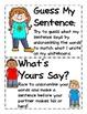 Everyday Scrambled Sentences