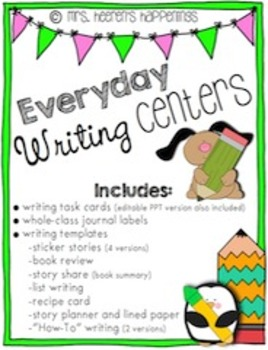 Everyday Writing Centers