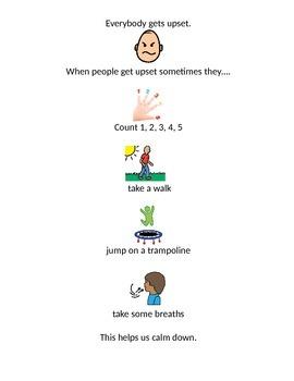 Everyone Gets Upset Social Story