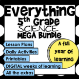 Everything 5th Grade Science Mega Bundle (STAAR)