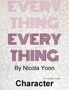 Everything, Everything by Nicola Yoon - Complex Character