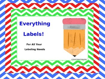 Everything Labels!