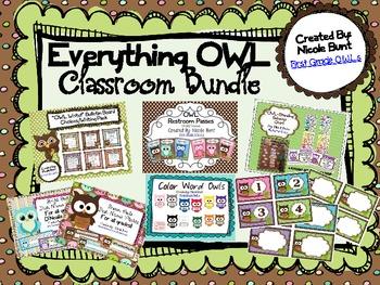 Everything OWL Classroom Bundle