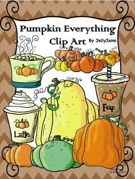 Pumpkins Clip Art Bundle(Fall/Autumn clipart)By JellyJams~
