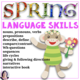 Everything Language Spring for Special Education, Autism,