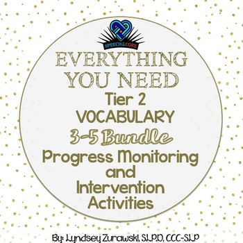 Everything You Need! 3rd-5th Vocabulary Bundle